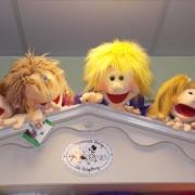 Die lebendig gewordenen Living Puppets